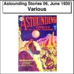 Astounding Stories 06, June 1930 Thumbnail Image