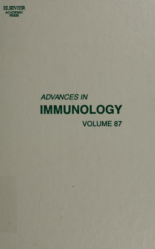 Advances in immunology by