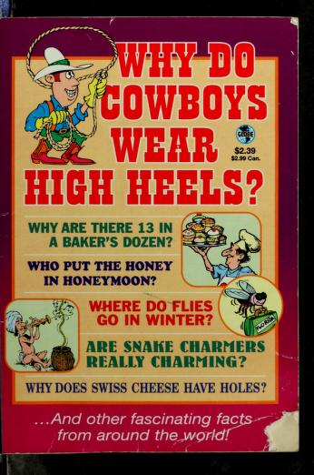 Cover of: Did you ever wonder--   Jeff Rovin