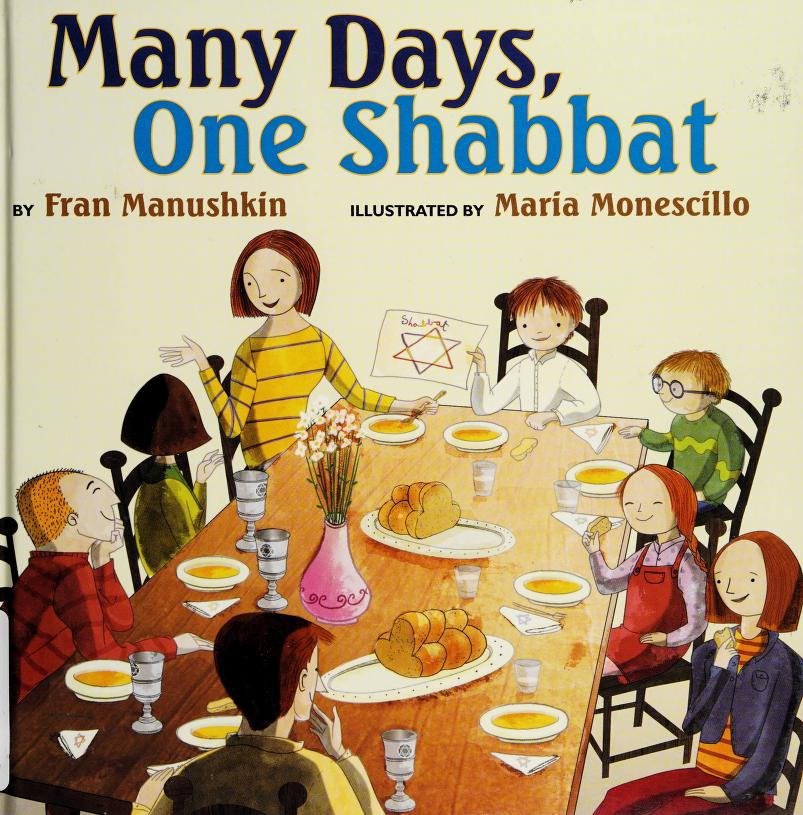 Many days, one shabbat by Fran Manushkin
